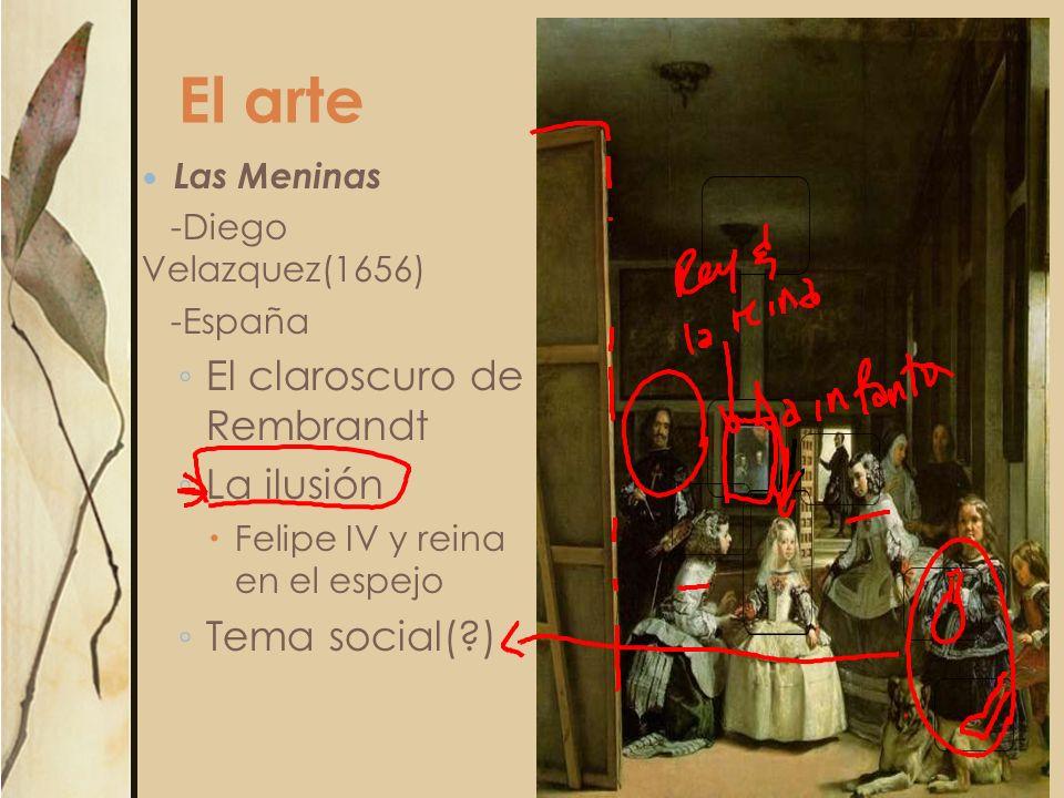 El arte El claroscuro de Rembrandt La ilusión Tema social( )