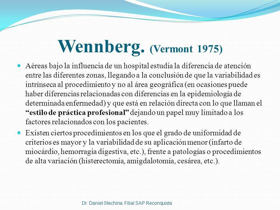 Wennberg. (Vermont 1975)