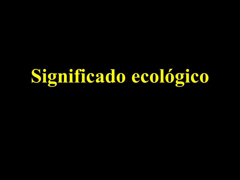 Significado ecológico