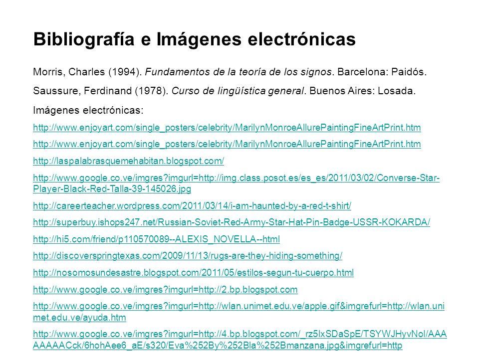 Bibliografía e Imágenes electrónicas
