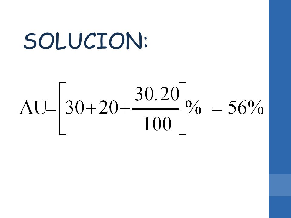 SOLUCION: