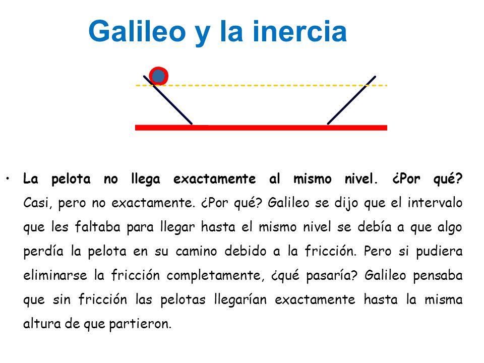 Galileo y la inercia