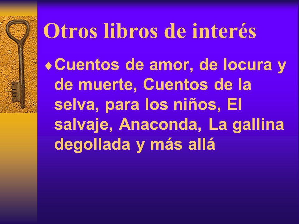 Otros libros de interés