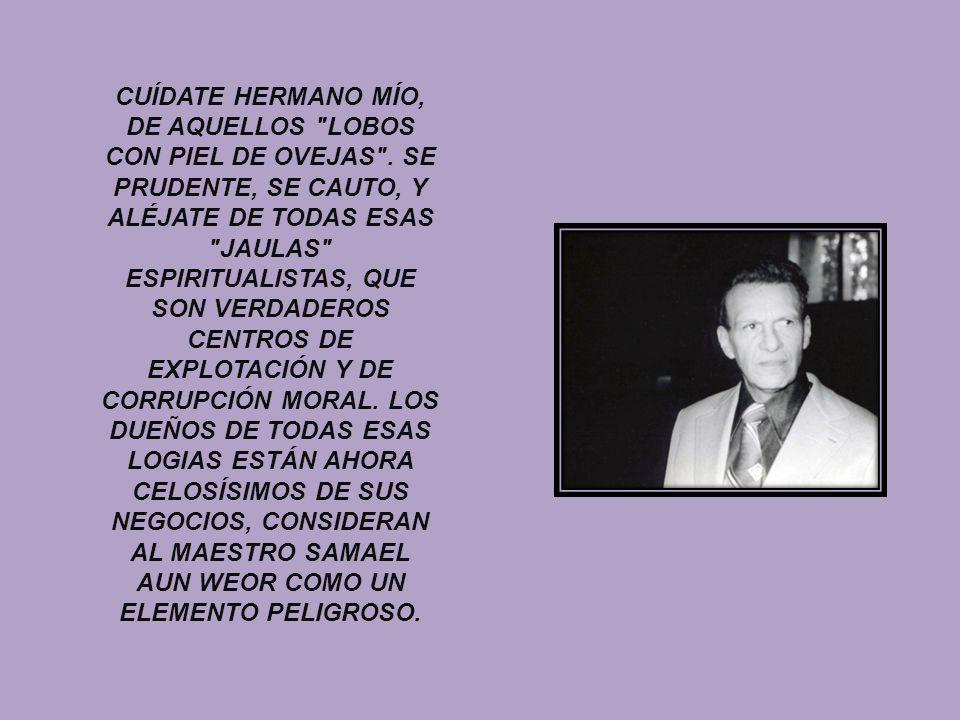 CUÍDATE HERMANO MÍO, DE AQUELLOS LOBOS CON PIEL DE OVEJAS
