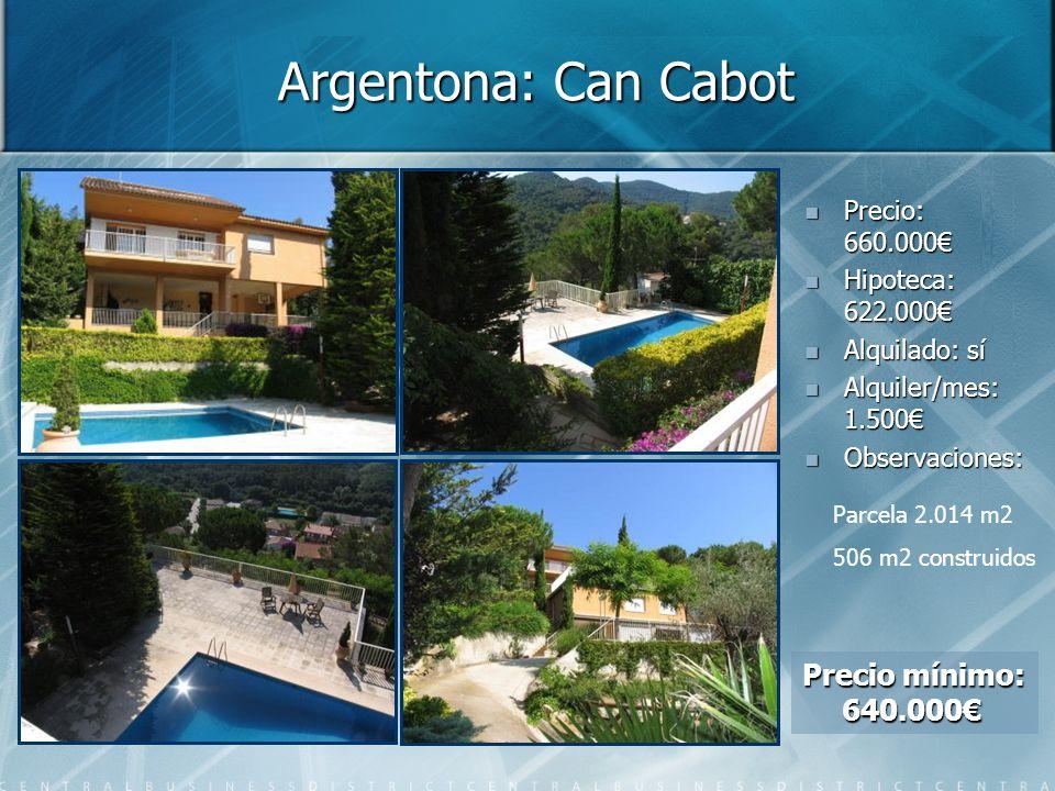 Argentona: Can Cabot Precio mínimo: 640.000€ Precio: 660.000€