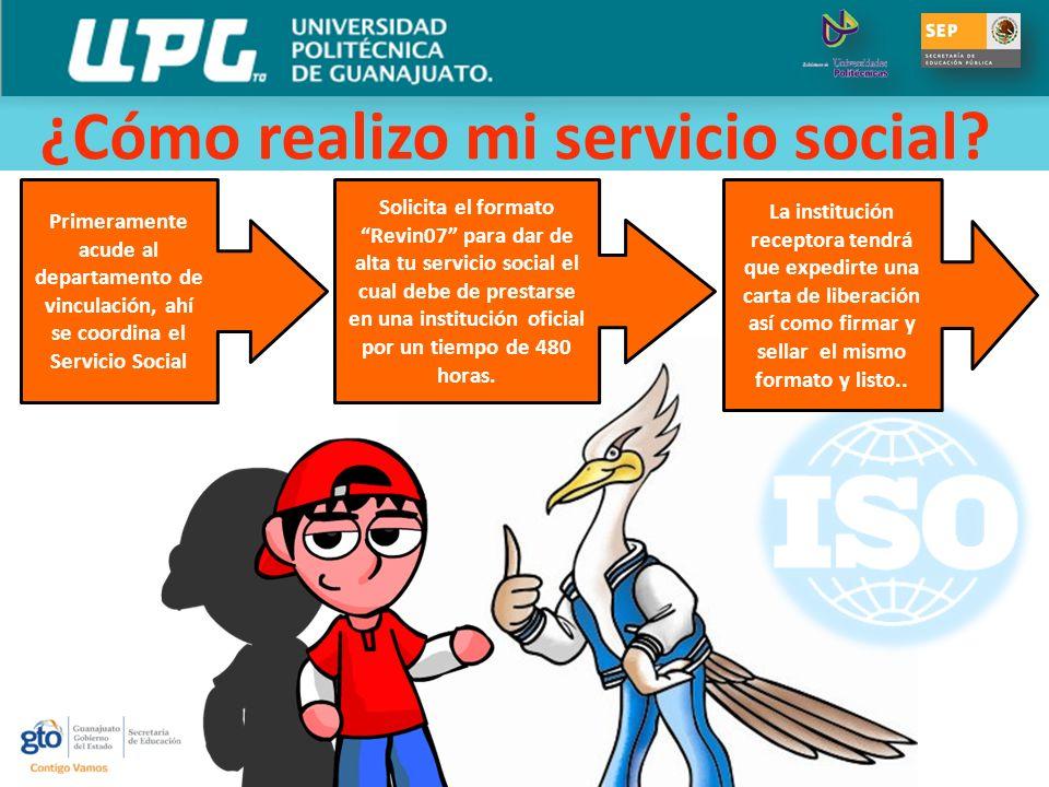 ¿Cómo realizo mi servicio social