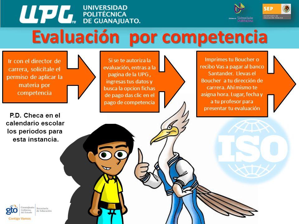 Evaluación por competencia