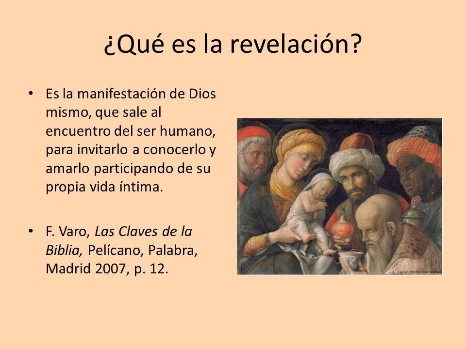 ¿Qué es la revelación