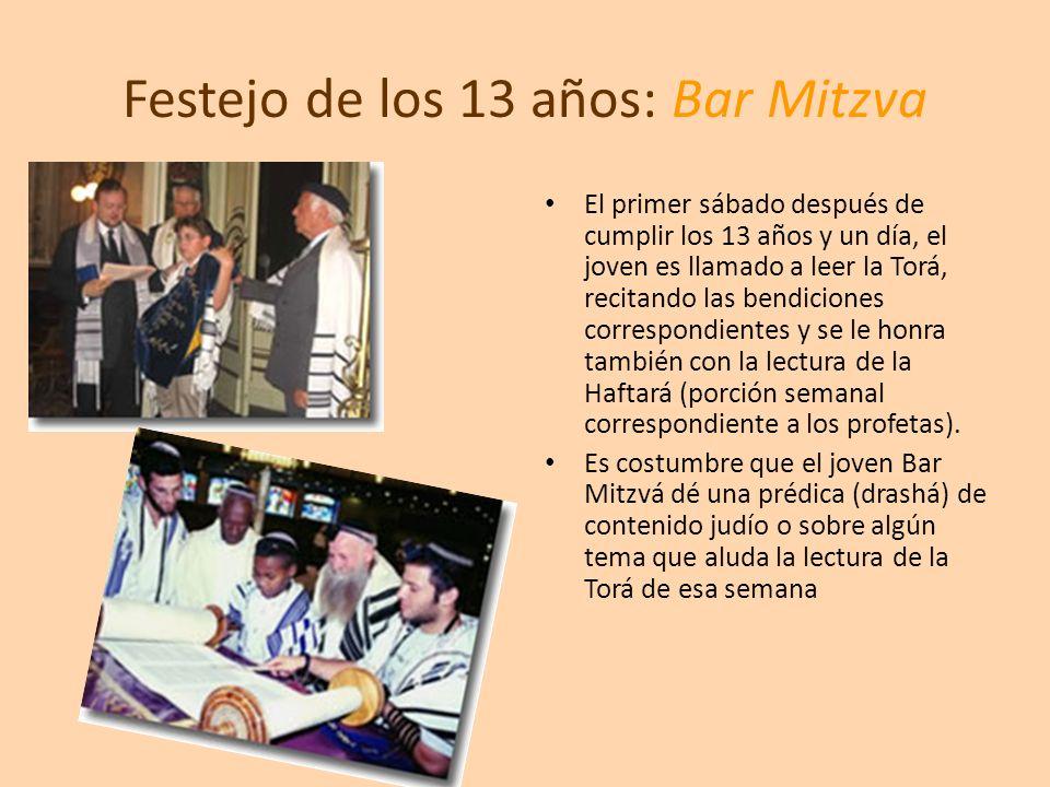 Festejo de los 13 años: Bar Mitzva