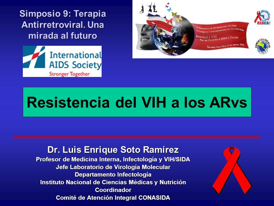 Resistencia del VIH a los ARvs