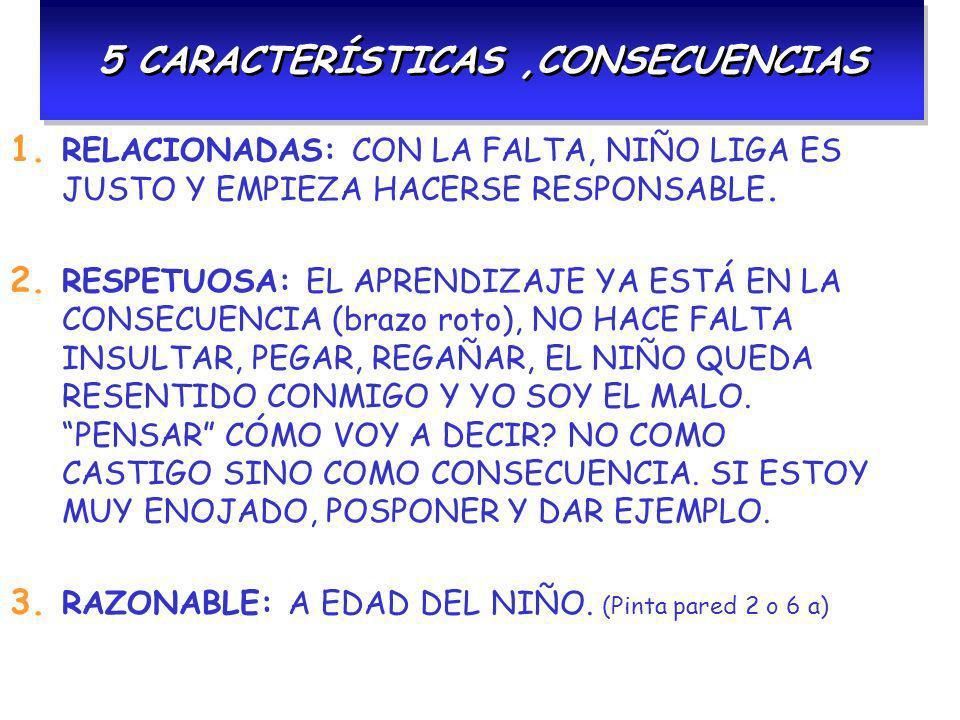 5 CARACTERÍSTICAS ,CONSECUENCIAS
