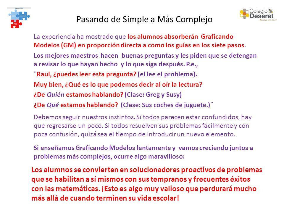 Pasando de Simple a Más Complejo