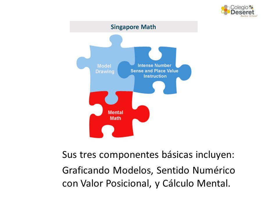 Sus tres componentes básicas incluyen: