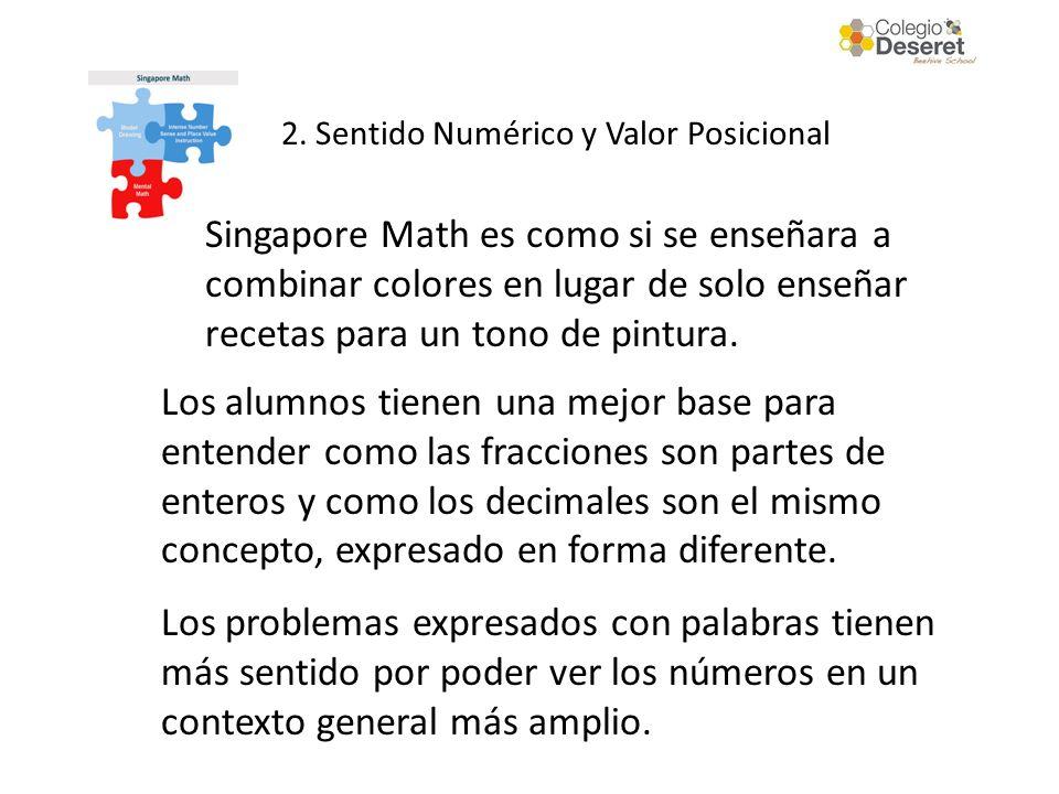 2. Sentido Numérico y Valor Posicional