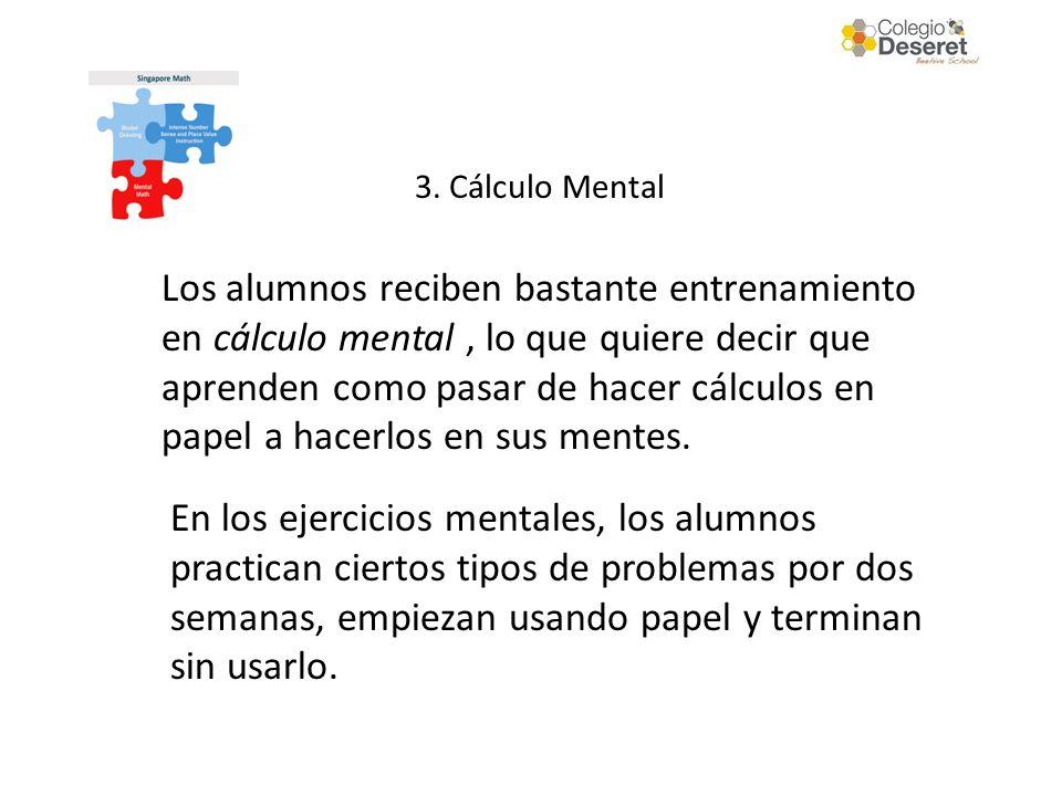 3. Cálculo Mental