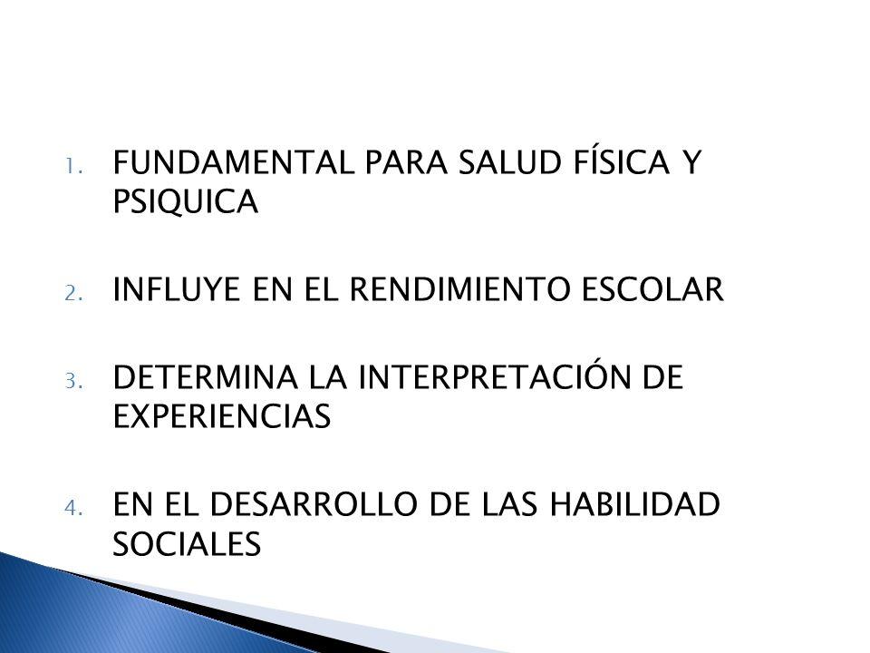 FUNDAMENTAL PARA SALUD FÍSICA Y PSIQUICA