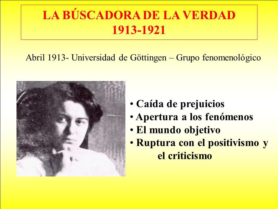 LA BÚSCADORA DE LA VERDAD 1913-1921