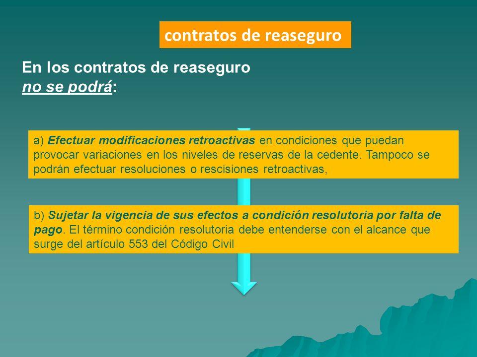 contratos de reaseguro