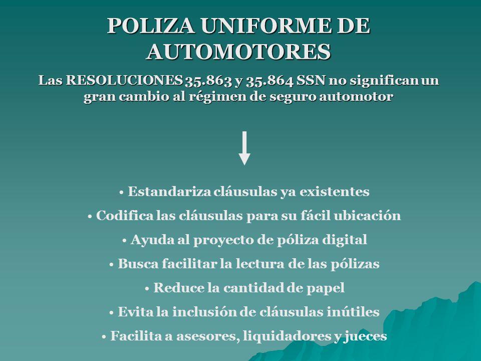 POLIZA UNIFORME DE AUTOMOTORES