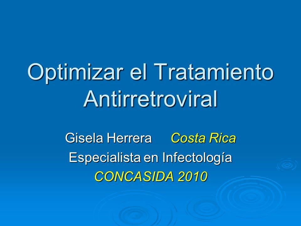 Optimizar el Tratamiento Antirretroviral
