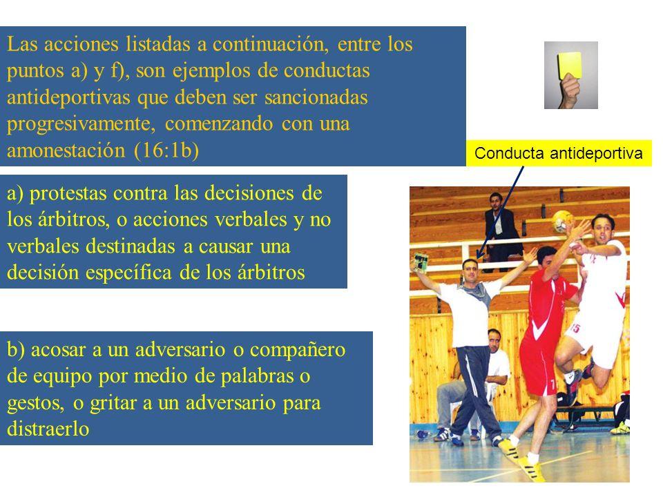 Conducta antideportiva