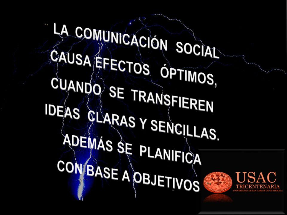 ¨ LA COMUNICACIÓN SOCIAL IDEAS CLARAS Y SENCILLAS.