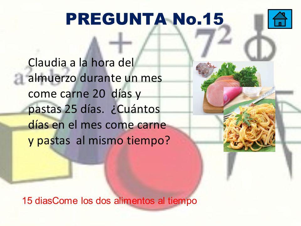 PREGUNTA No.15