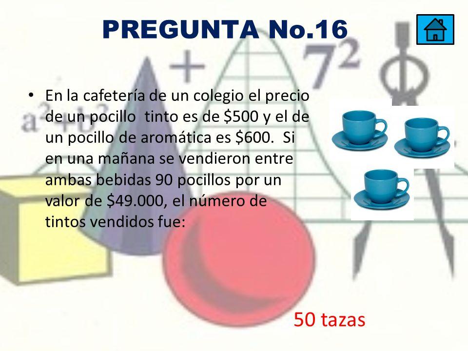 PREGUNTA No.16