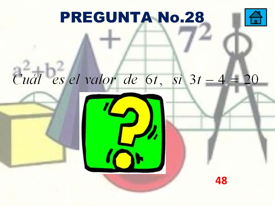 PREGUNTA No.28 48