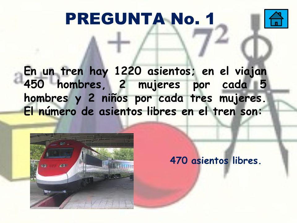 PREGUNTA No. 1