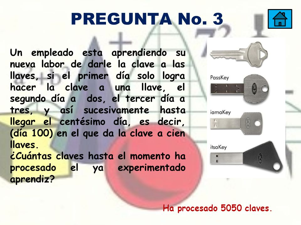 PREGUNTA No. 3