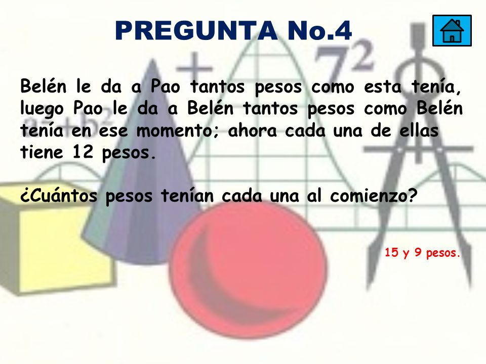 PREGUNTA No.4