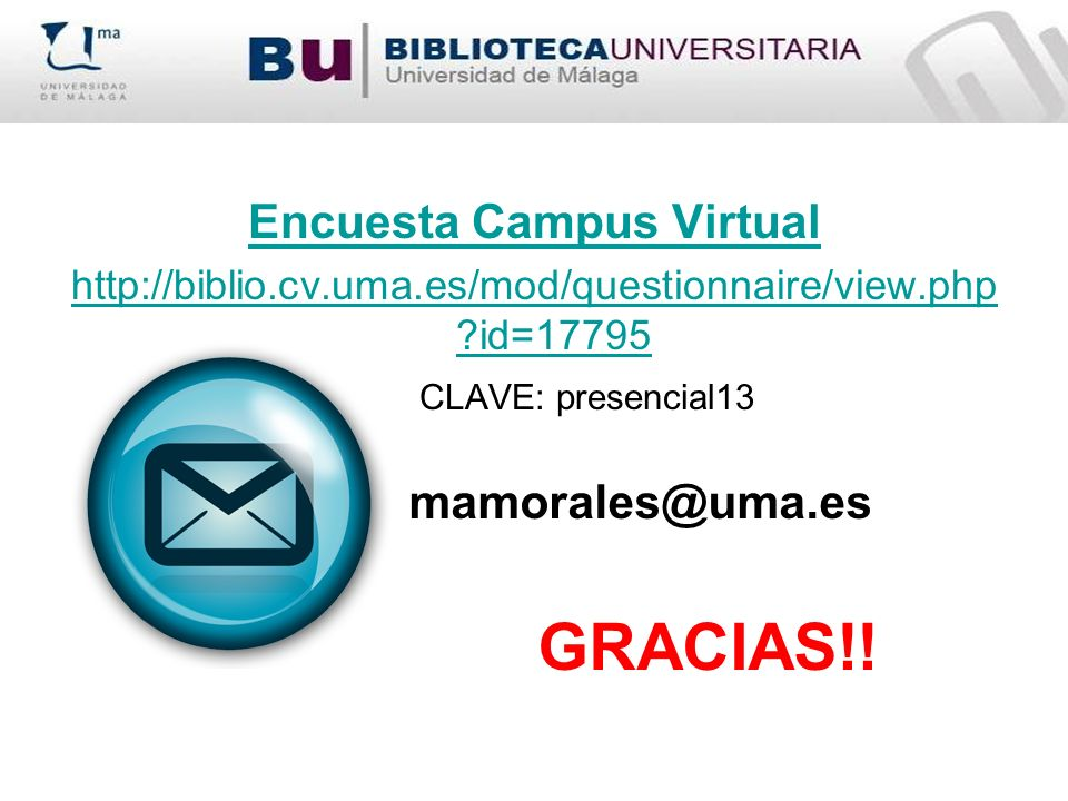 Encuesta Campus Virtual