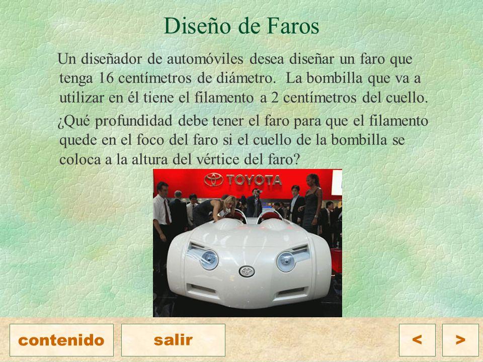 Diseño de Faros