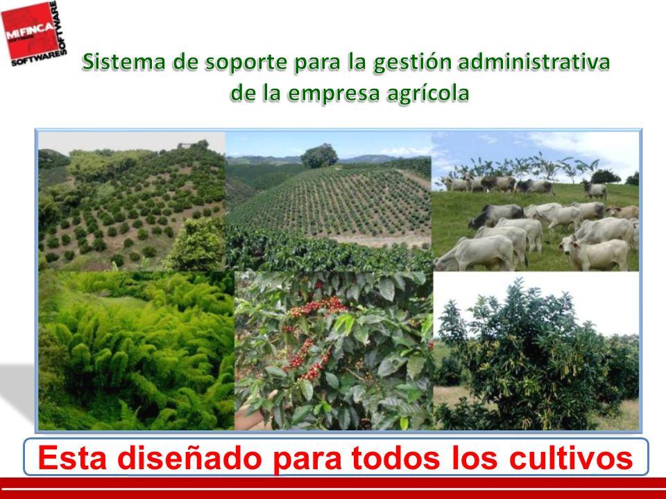 Esta diseñado para todos los cultivos