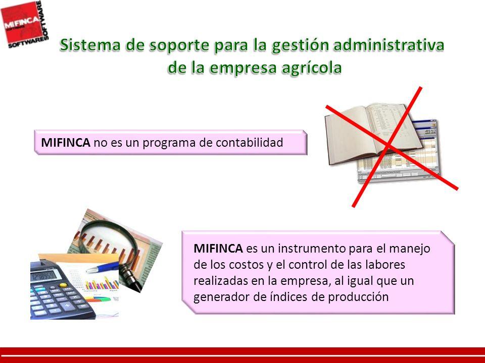 Sistema de soporte para la gestión administrativa