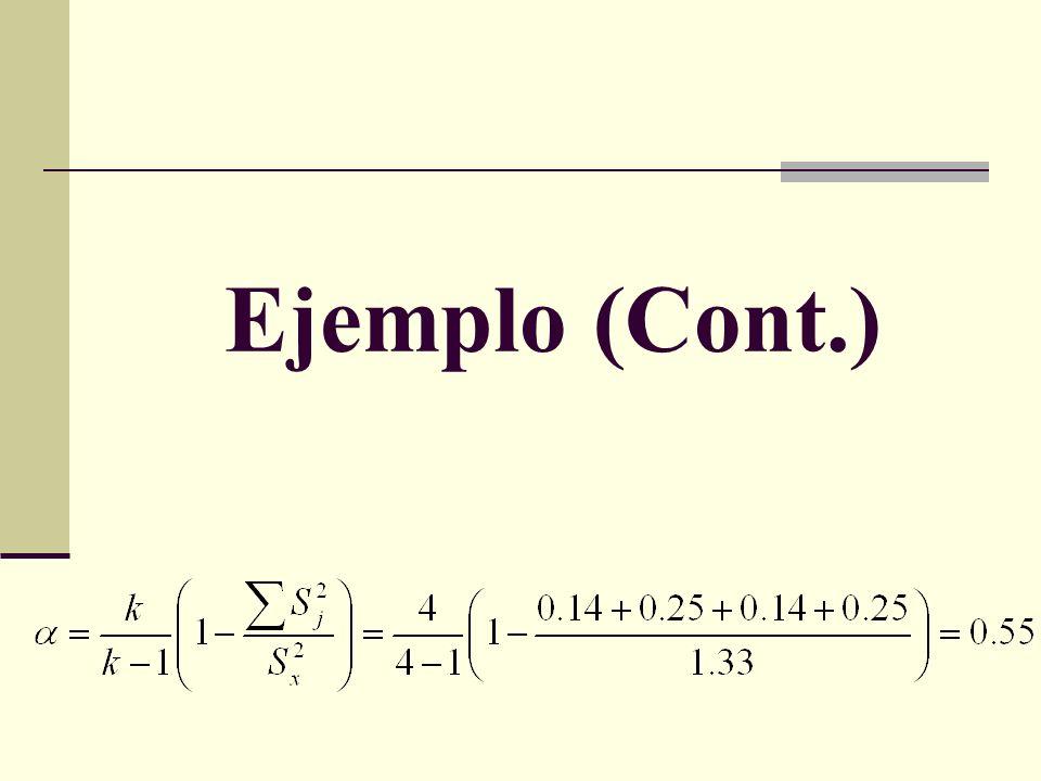 Ejemplo (Cont.)