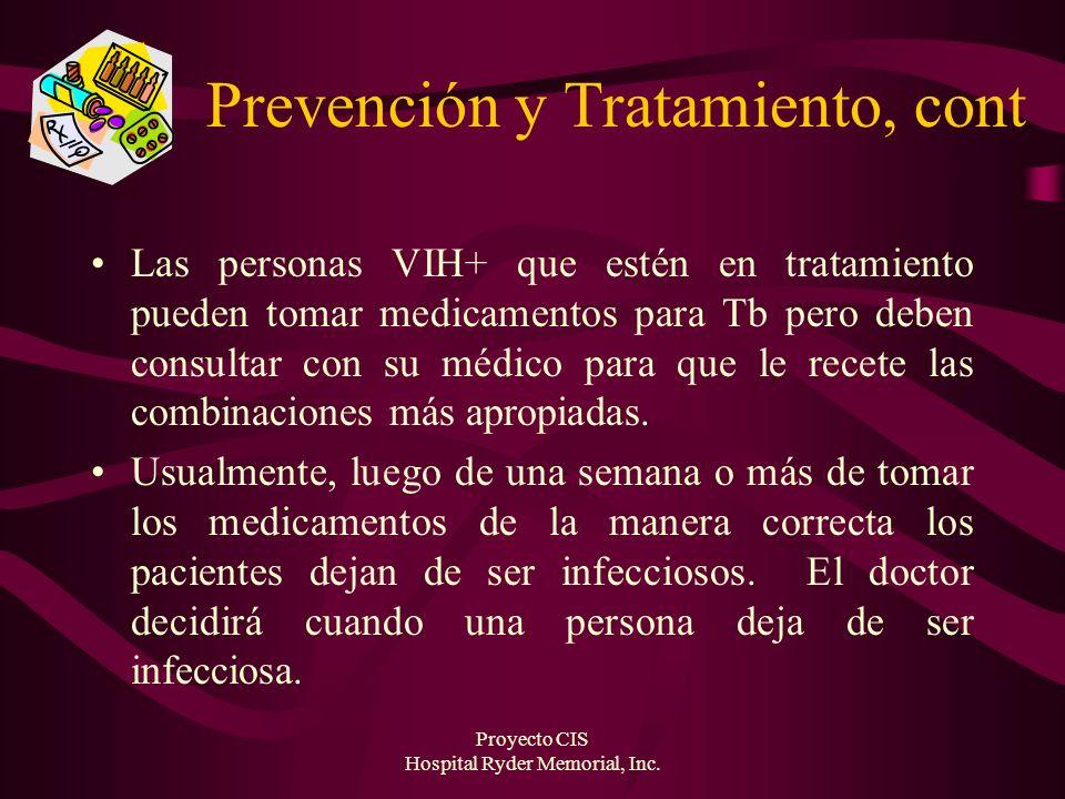 Prevención y Tratamiento, cont