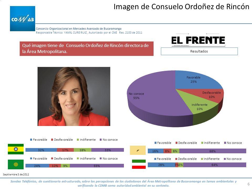 Imagen de Consuelo Ordoñez de Rincón