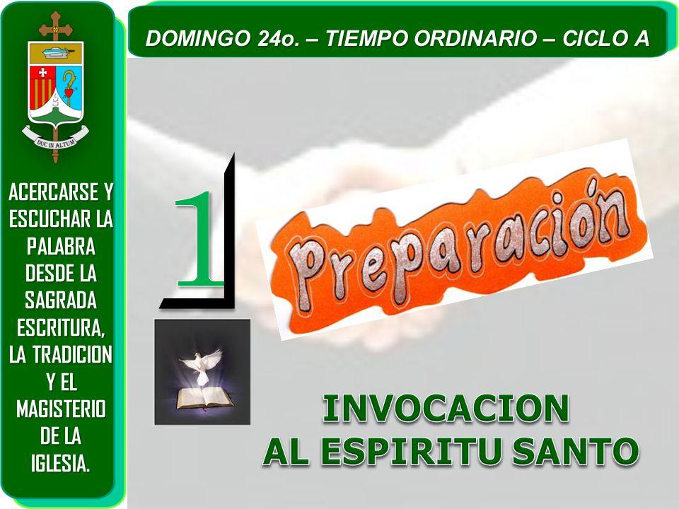 INVOCACION AL ESPIRITU SANTO