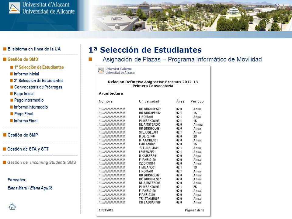 Relacion Definitiva Asignacion Erasmus 2012-13
