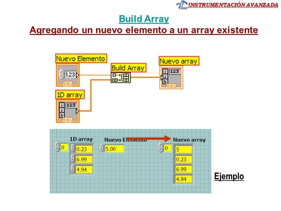 Agregando un nuevo elemento a un array existente