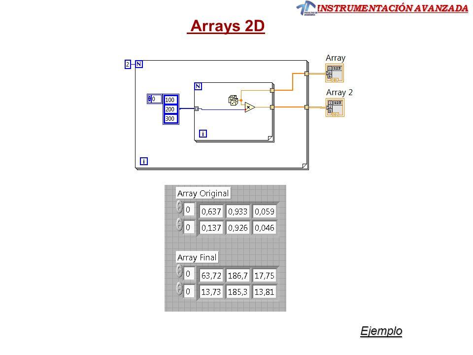 Arrays 2D Ejemplo