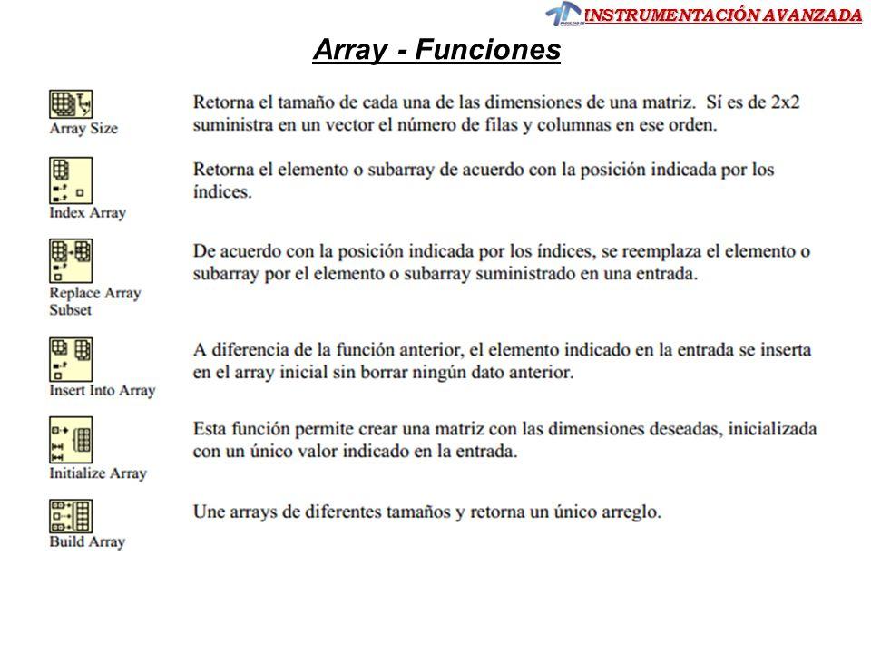 Array - Funciones