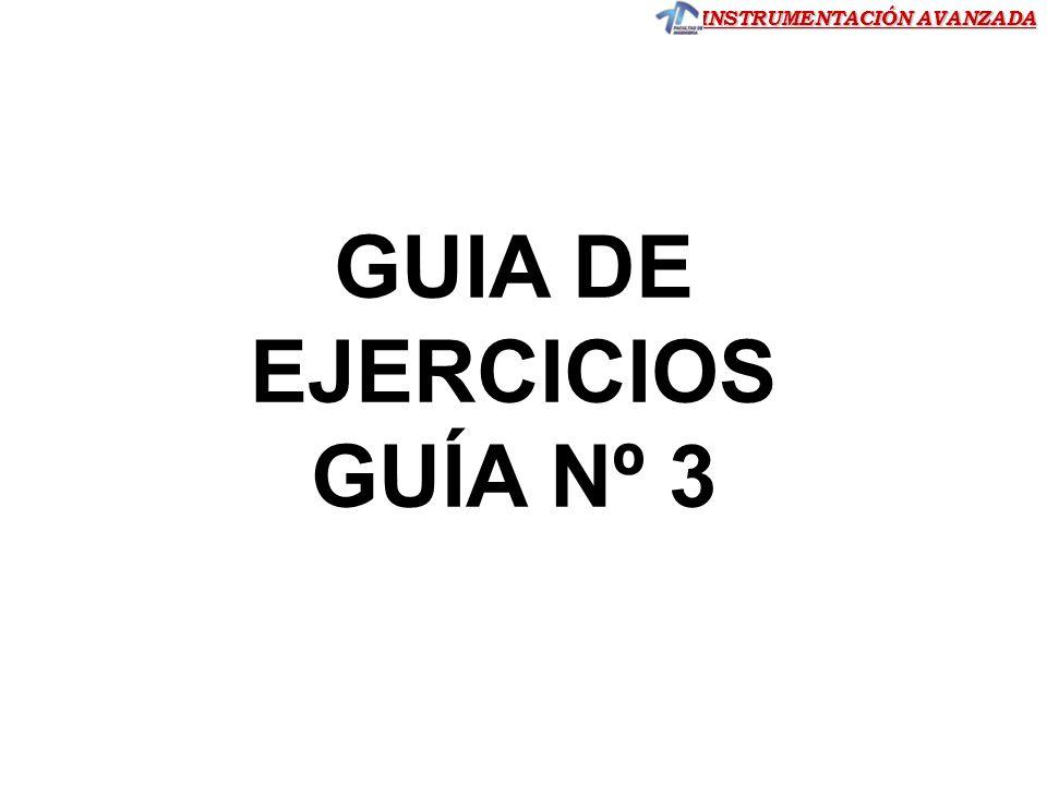 GUIA DE EJERCICIOS GUÍA Nº 3