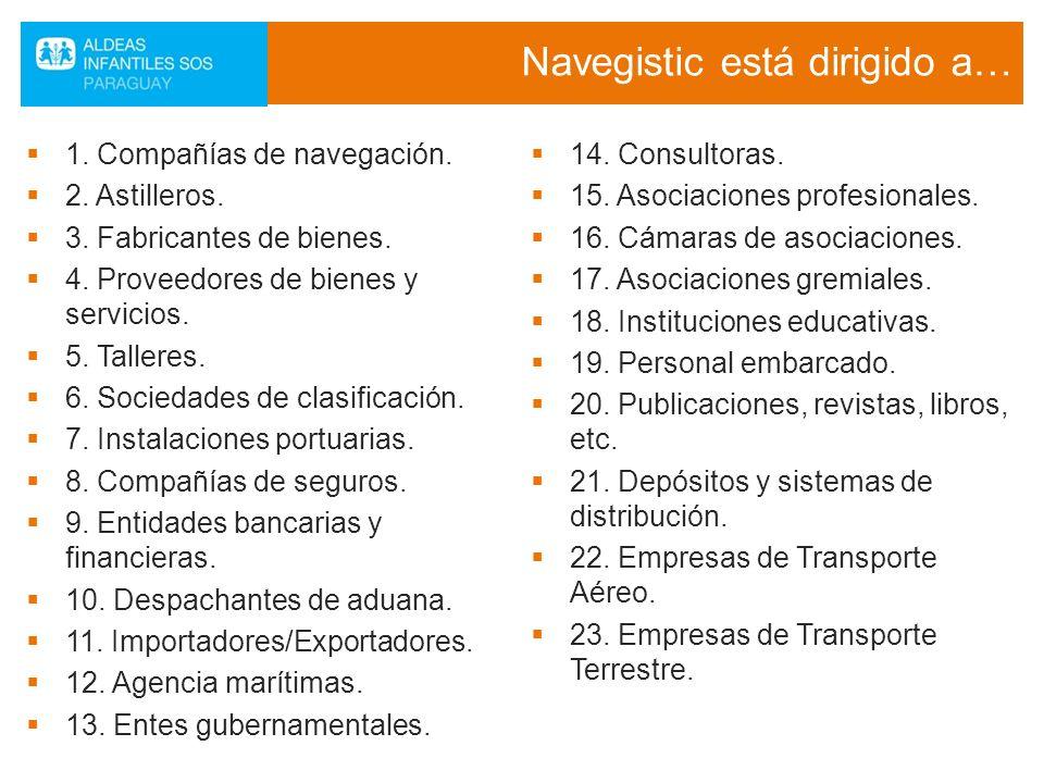 Navegistic está dirigido a…