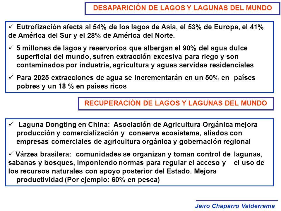 DESAPARICIÓN DE LAGOS Y LAGUNAS DEL MUNDO