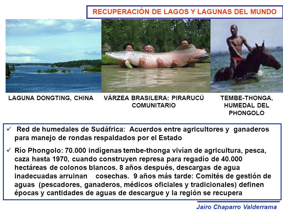 RECUPERACIÓN DE LAGOS Y LAGUNAS DEL MUNDO