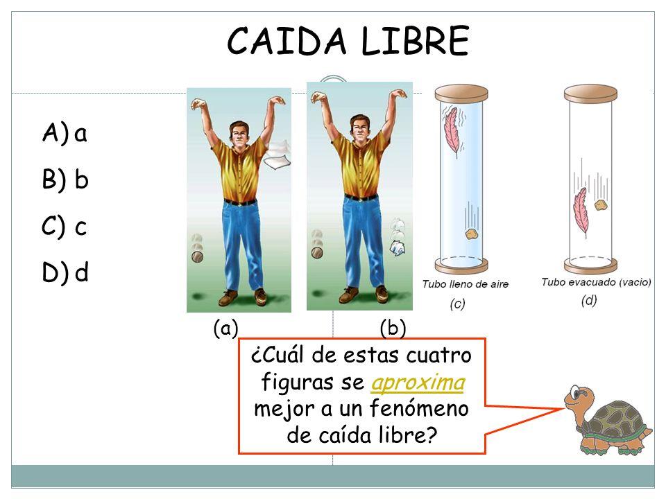 CAIDA LIBRE a. b. c. d.