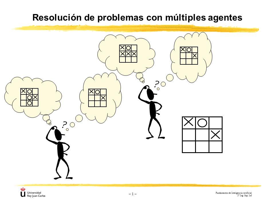 Resolución de problemas con múltiples agentes
